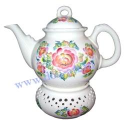 Чайник Чайная церемония большой (вар. Цветы)