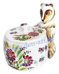 Банка для меда Пчелка
