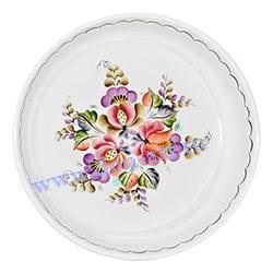 Блюдо Донской фаянс (вар. Цветы)