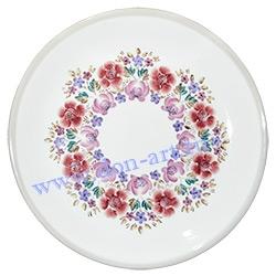 Блюдо Лазурное (Цветы)
