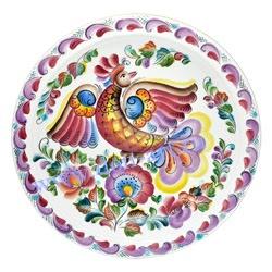Блюдо настенное Край донской (вар. Птица)