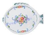 Блюдо Рыбный день малое (вар. Цветы)