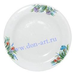Блюдце Степные цветы (вар. Цветы)