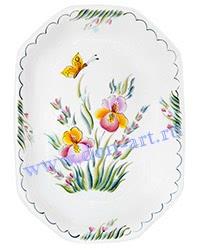 Бутербродница Полевые цветы (вар. Ирисы)