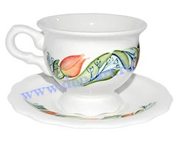 Чайная пара Анастасия (вар. Тюльпаны)