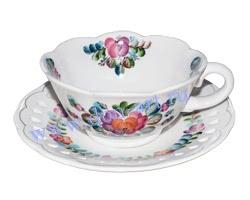 Чайная пара Любава (вар. Цветы)