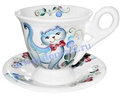 Чайная пара Мечта (Кот синий)