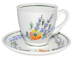Чайная пара Петушок (вар. Лаванда)