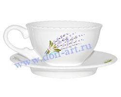 Чайная пара Рождественская (Лаванда)
