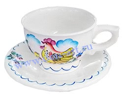 Чайная пара Шиповник (вар. Петушок)