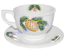 Чайная пара Шиповник (вар. Ягоды)