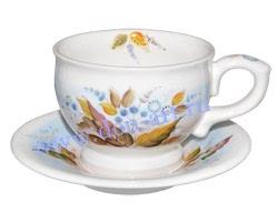 Чайная пара Цветочная (вар. Донская птица)