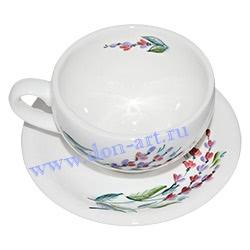 Чайная пара Утренняя роса (вар. Лаванда)