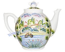 Чайник Богатырь большой (Пейзаж)
