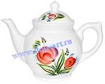 Чайник Богатырь маленький (Тюльпаны)