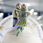 Чайник Рождественский (вар. Оливки)