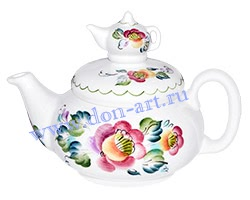 Чайник Яблочный спас (вар. Цветы)