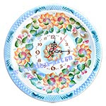 Часы Край Донской (вар. Цветы)