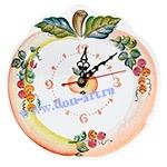 Часы Яблоко золотое