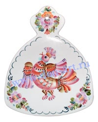 Доска Русский сувенир (вар. Птица)