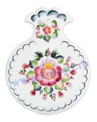 Доска Яблоко (вар. Цветы)