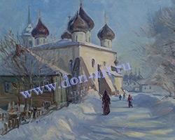 Картина Каргополь