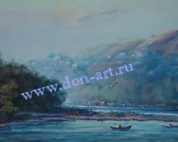 Картина Река Дон