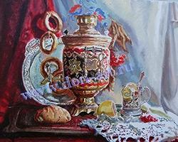 Картина Славянский натюрморт