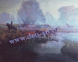 Картина Утро на Дону