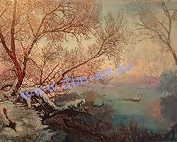 Картина Зимнее утро