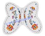 Менажница Бабочка (вар. Цветы)