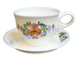 Чайная пара Донское чаепитие (вар. Цветы)