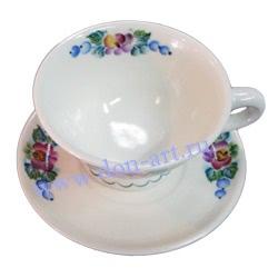 Чайная пара Мелодия (вар. Цветы)