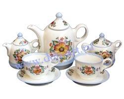 Набор чайный Донское чаепитие (вар. Цветы)