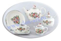 Набор чайный Донской фаянс