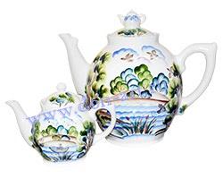Набор чайников Богатырь (вар. Пейзаж)