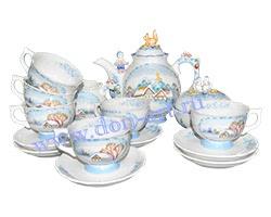 Набор чайный Донское раздолье (зима)