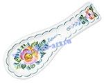 Подставка под ложку Цветы