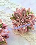 Резинки нежно-розовые (пара) Р8