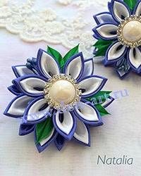 Резинки сине-белые (пара) Р10