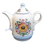 Чайник Донское чаепитие (вар. Цветы)