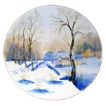 Тарелка Утро туманное - Февраль