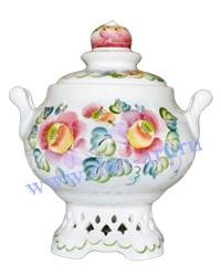 Сахарница Яблочный спас (вар. Цветы)