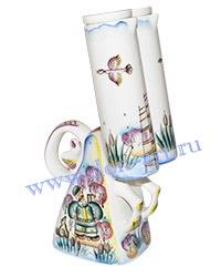 Штоф-сувенир Дуплет (вар. Охотники)