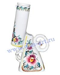 Штоф-сувенир Дуплет (вар. Цветы)