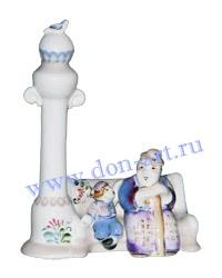 Скульптурка Улица Садовая (вар. Бабушка и внуки №3)