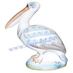 Скульптурка Кудрявый пеликан