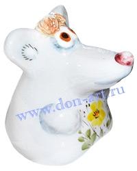Скульптурка Шуршик в цветах