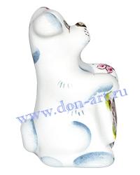 Сувенир Бобик (белый) 2018