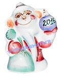 Сувенир Дед мороз 2016